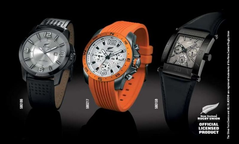 UNE MONTRE ALL BLACKS OFFERTE !