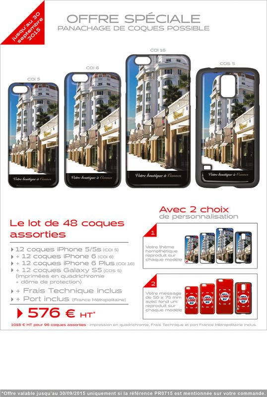 Une coque I-PHONE 100% personnalisable !....