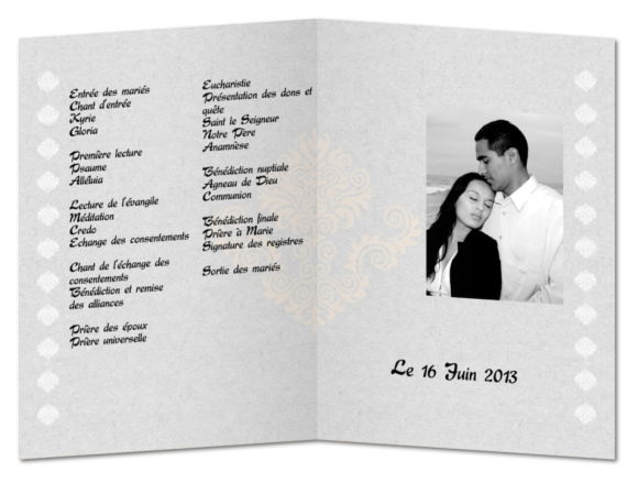 faire imprimer un livret de messe toulon - Exemple Livret De Messe Mariage